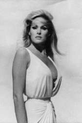 Remember when Ursula Andress emerged from the sea in a white bikini?